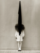 Leslie Winer, Yohji Yamamoto, London, 1989, Archival Pigment Print
