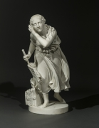 RANDOLPH JOHN ROGERS (1825–1892), Nydia, the Blind Flower Girl of Pompeii, 1862. Marble, 36 1/2 in. high.