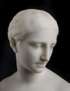 HIRAM POWERS (1805–1873), Greek Slave, 1852. Marble, 15 in. high (detail).