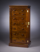Seven-Drawer Tall Chest, about 1825