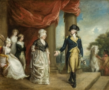 Jeremiah Paul, Jr. (c. 1771–1820), The Washington Family, c. 1796–1800