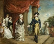 Jeremiah Paul, Jr. (c. 1771–1820), The Washington Family,c.1796–1800