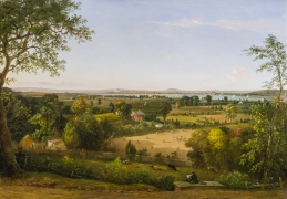 WILLIAM MACLEOD (1811–1892). View of the City of Washington From the Anacostia Shore, 1856. Oil on canvas, 37 x 53 in.