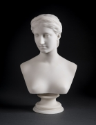 HIRAM POWERS (1805–1873), Proserpine, 1849. Marble, 15 1/2 in. high (detail).