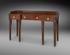 Side Table with Figural Legs, about 1826