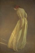 John White Alexander, Sunlight, 1909, oil on canvas, 83 1/2 x 55 1/2 in.
