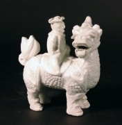 Blanc de Chine Figure on Qilin