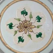 Underside of plate.