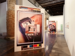 All the World's Futures. Installation view, 2015. 56th Venice Biennale.