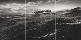 Untitled (Raft at Sea), 2016 - 2017