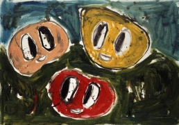Untitled (3 F.S), 2007. Oil on canvas. MP 10
