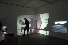 Tall Tales and Short Stories, 2007. Performance and exhibition, Cubitt, London