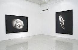 """Children of Nyx,"" installation view, 2007. Metro Pictures, New York."
