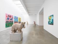 'Olaf Breuning: RAIN' Installation View