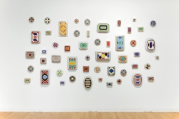 Four Collections. Installation view, 2015. Aldrich Contemporary Art Museum, Ridgefield, Connecticut.