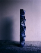 Blue Caryatid at Dusk, 2010.Digital C-print, 20 x 16 inches (50.8 x 40.6 cm).