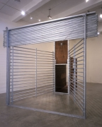 Red Deer Trap, 1999. Metal, wood, 151 x 118 x 209 inches. MP 17