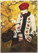 Cardigan Smrek, 2010. Oil on canvas, 76.77 x 55.12 inches (195 x 140 cm). MP 65