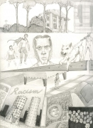 Dream Drawing (I drove by a depressed country...), 1996.