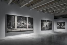 Proof: Francisco Goya, Sergei Eisenstein, Robert Longo. Installation view, 2016. Garage Museum, Moscow. Photo: Alexei Naroditsky.