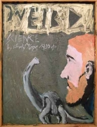 Weird Science, 2006. Oil on board, 16.34 x 12.2 inches (41.5 x 31 cm). MP 7