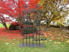 """Art in the Park VI,"" installation view, 2011. Baur au Lac Park, Zurich."