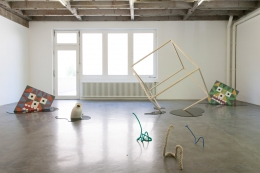 Untitled (4). Installation view, 2014. PRAXES Center for Contemporary Art, Berlin. Photo: Eva Lechner.