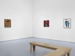 """Andy Hope 1930, """"Impressions d'Amérique."""" Installation view, 2014. Metro Pictures, New York."""