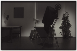 Temporary Projections (Version 2), 2012. Inkjet print on archival paper with collage elements, Image 39.37 x 59.06 inches (100 x 150 cm), Frame 40 1/4 x 61 inches (102.2 x 154.9 cm).