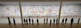 """The Grid,"" 2013. Paul Klee Museum, Bern, Switzerland."