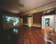 """""""Ice Floes of Franz Joseph Land"""",  2003. Five channel installation. Installation view, Kunstverein Braunschweig."""