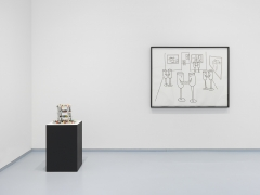 Olaf Breuning. Installation view, 2017. Metro Pictures, New York