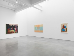 Sputterances. Installation view, 2017. Metro Pictures, New York