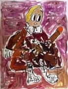 Untitled (Frau), 2007. Oil on canvas, 66.93 x 51.18 inches (170 x 130 cm).