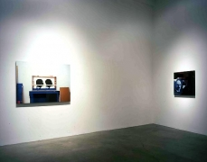 """Looking Forward,"" installation view, 2004. Metro Pictures, New York."