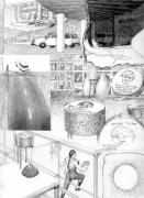Dream Drawing (In Michigan my nephew was talking...), 1996.