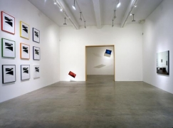 """More Pictures,"" installation view, 2000. Metro Pictures, New York."