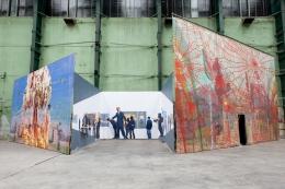 XXXL Painting. Installation view, 2013. Museum Boijmans Van Beuningen, Rotterdam.