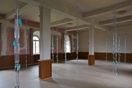 Bambus.Installation view, 2012. documenta 13, Kassel.