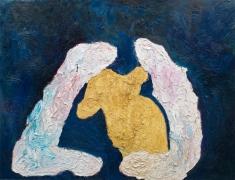 Grablegung von Winnie Puh (Entombment of Winnie the Pooh), 2010. Oil on canvas, 102 1/2 X 134 inches (260.4 x 340.4 cm).