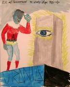 Eye of Tomorrow, 2006. Oil on board, 20.08 x 15.75 inches (51 x 40 cm). MP 2