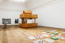 Pavilionesque. Installation view, 2013. Kunsthalle Basel. Photo: Serge Hasenböhler.