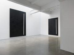 André Butzer. Installation view, 2017. Metro Pictures, New York.,
