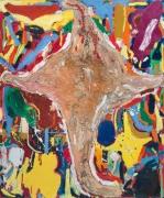 Nicht fürchten! (Don't Be Scared!), 2009. Oil on canvas, 110 1/2 X 90 1/2 inches (280.7 x 229.9 cm).