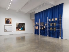 Isaac Julien, Lessons of the Hour–Frederick Douglass. Installation view, 2019. Metro Pictures, New York.