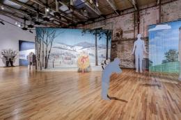 Entertaining Doubts. Installation view, 2015. MASS MoCA, North Adams, Massachusetts.