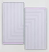 Labyrinth, 2016. 2 digital C-prints, Each 96 7/8 x 48 7/8 inches (246.1 x 124.1 cm).