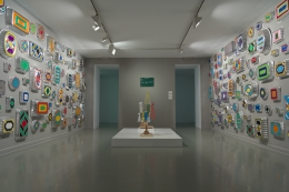 Selected Works 1970-2016. Installation view, 2016. La Casa Encendida, Madrid.