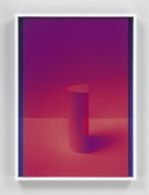 Setting Sun III, 2017. 2 digital C-prints, 20 x 14 1/2 inches (50.8 x 36.8 cm).