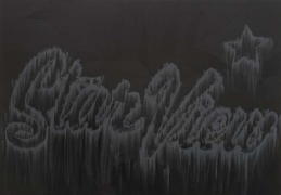 Star View, 2010. Pigment, oil paint and cold wax on canvas, 46 x 66 inches (116.8 x 167.6 cm). MP 231